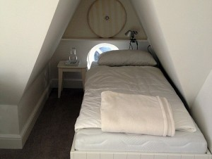 """Dachzimmer im Ferienhaus """"Seaside"""""""