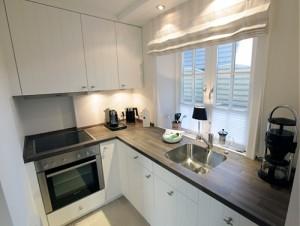 """Küche im Ferienhaus """"Seaside"""""""
