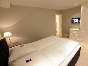 """Schlafzimmer im Ferienhaus """"Seaside"""""""