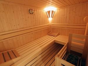 """Sauna im Ferienhaus """"Seaside"""""""