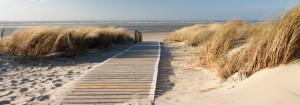 Sylt - Blick auf den Strand