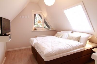 Schlafzimmer in der Ferienwohnung Sylt - An der Düne