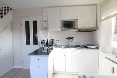 Küche, Ferienwohnung An der Düne