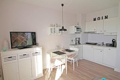 Küche, Ferienwohnung Möwennest auf Sylt