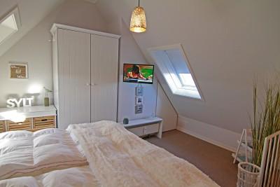 Zimmer, Ferienwohnung Möwennest auf Sylt